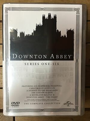 Downton Abbey The Complete Collection Dvd 1-6 • 20£