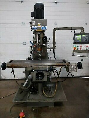 Chester Milling Machine With Twin Spindles And 3 Axis DRO • 4,800£