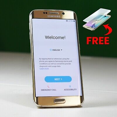 $ CDN144.67 • Buy Samsung Galaxy S6 Edge G925V 32 GB Verizon + 2 FREE Premium Screen Protectors