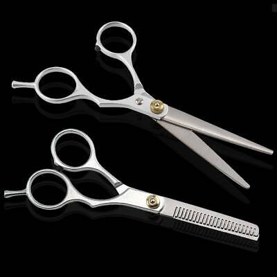 """£3.95 • Buy 6"""" Professional Hair Cutting & Thinning Scissors Shears Hairdressing Set"""