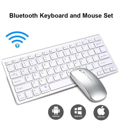 Wireless Bluetooth Keyboard And Mouse Set For PC Laptop Tablet IMac • 20.63£
