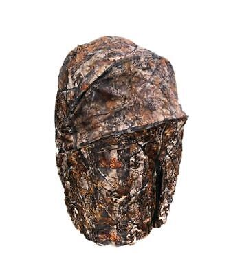 1 Man Pop Up Hide Blind Tent All In One Hunting Photography Camo Mesh • 64.99£