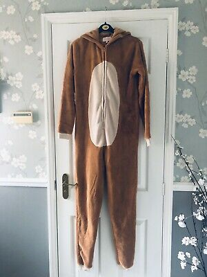 Bear All In One Pyjamas Lounge Wear Size S • 0.99£