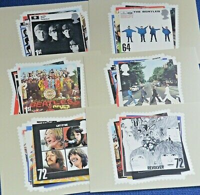 The Beatles Record Cover Postcards • 2.35£