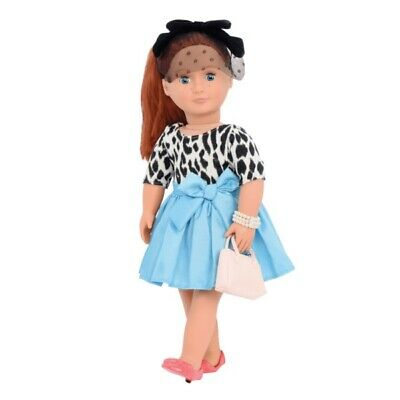 Our Generation Sweet Memories Leopard Print Retro Collection Doll Outfit Set  • 14.82£
