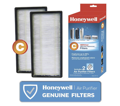 2 Pack Honeywell HEPAClean C Hepa-Type Replacement Air Purifier Filters HRF - C2 • 23.14£