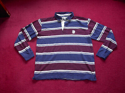 Cotton Traders Retro England Rugby Union Supporters Shirt/top/jersey/adult XL • 4£