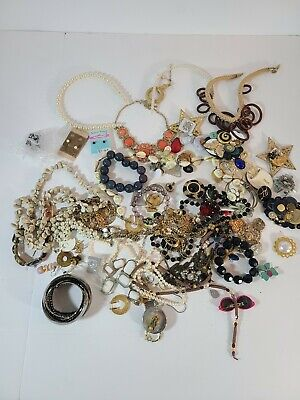 $ CDN15.11 • Buy Lot Of Costume Jewelry 3.5 Pounds