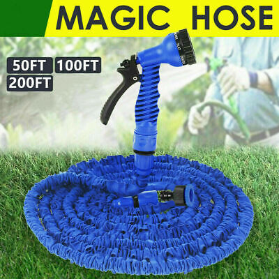 UK 50 100 200 Expandable Flexible Heavy Duty Garden Magic Water Hose Pipe Spray  • 16.29£
