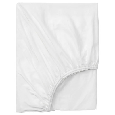 *New* VÅRVIAL Fitted Sheet For Day-bed, White, 80x200 Cm 104.475.28 *Brand IKEA* • 18.99£