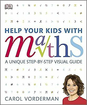 Help Your Kids With Maths, Vorderman, Carol, Used; Good Book • 4.09£