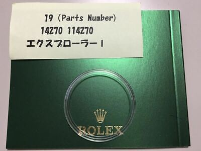$ CDN135.88 • Buy ROLEX Rolex 14270 114270 Explorer I. Bezel Cover Genuine Accessories