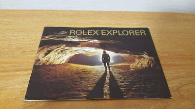 $ CDN44.41 • Buy ROLEX Rolex Explorer EXPLORER Booklet 2004 English Version 114270 16570