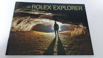 $ CDN56.17 • Buy French 8.2002 ROLEX EXPLORER Rolex Explorer Booklet 114270 16570