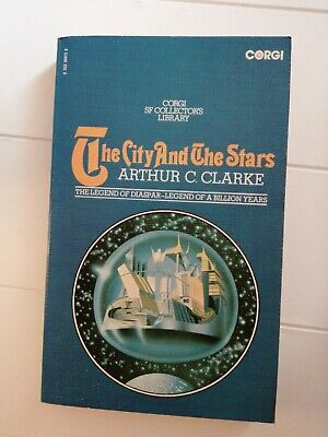 CORGI SF COLLECTOR'S LIBRARY The City And The Stars, Arther C. Clarke Paperback • 15£
