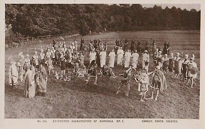 Old Postcard Pageant Assasination Agricola Rp Chidley Chester Oc1 • 1.99£