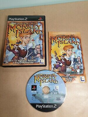Escape From Monkey Island | Ps2 | Complete With Booklet | Lucas Arts • 6.99£