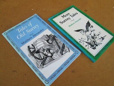 Tales Of Old Surrey + More Alexander History Books X 2 • 4£
