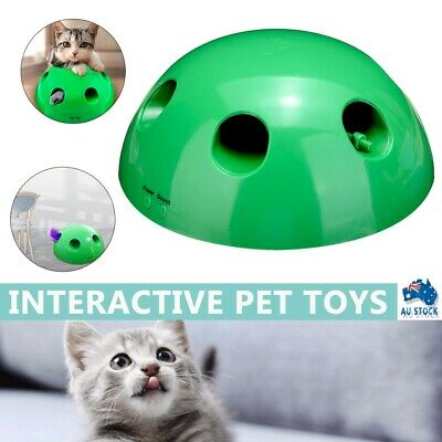 AU18.85 • Buy Interactive Cat Pet Toys Play Mouse Motion Cat Tease Electronic Funny Toy New