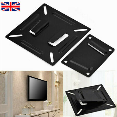 LED LCD Monitor TV Wall Bracket Mount Stand Holder For 12-24 Inch PC Screen UK • 5.38£