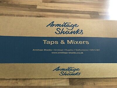 Armitage Shanks Sensorflow 21 230mm A4849AA Panel Mounted Basin Tap. Mains Power • 200£