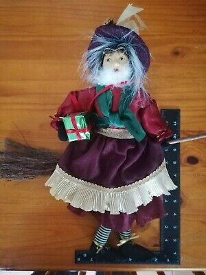 Witches Of Pendle Gabriella - Gift Witch - Burgundy- New With Tags • 14.99£