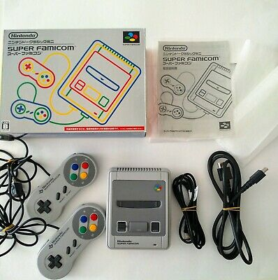 $ CDN146.68 • Buy Nintendo Classic Mini Super Famicom Console SNES 21 Popular Titles Japanese