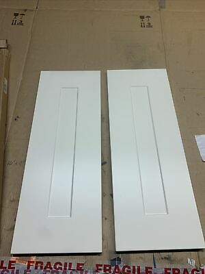 2 X STONEFIELD Ivory Corner Pack   (B&Q)Kitchen Cabinet Door Front 268.5 X 715mm • 35.95£