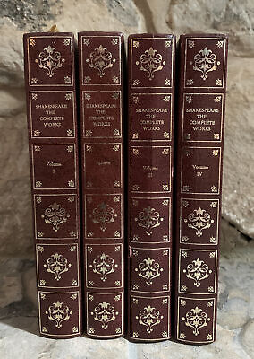 William Shakespeare The Complete Works: Collection Of 4 Heron Books  • 9.99£
