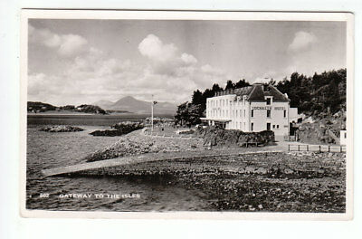 Kyle Of Lochalsh Hotel And Isle Of Skye Ferry Slipway Real Photograph 1950's • 1.95£