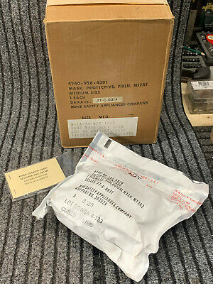 $65 • Buy US MSA M17a1 Protective Mask Dated 1968 To November 1970 In The BOX NOS