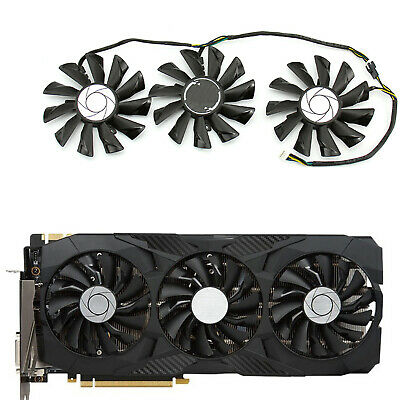 AU41.18 • Buy For MSI GTX 980TI/1060/1070/1080/1080TI Graphics Card PLD09210S12HH Cooling Fan