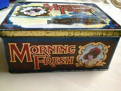 MORNING FRESH : Pure And Healthy        EMPTY TIN • 1.40£