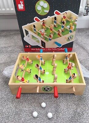 Janod - Champions Mini Wooden Table Football - For Children From The Age Of 3, J • 3.20£