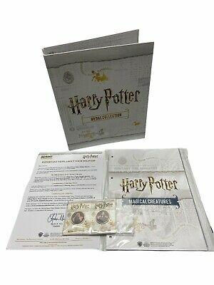 £25 • Buy Harry Potter Medal Collection Binder + Dividers & Sleeves - Inc 2 Medals - New