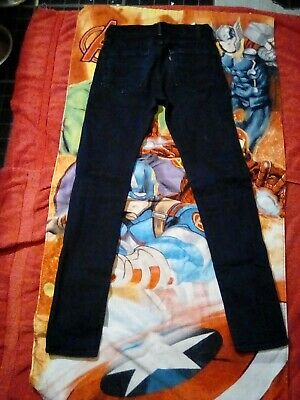 Mens Levi's 519 W28 L32 Jeans Slim Fit Skinny Leg Black Stretch Good Condition • 4.40£
