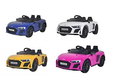 12v Audi R8 Kids Electric Ride On Car Face Lift Model & Parental Remote Control • 146.90£