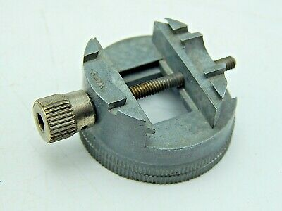 $ CDN13.14 • Buy Vintage Watchmakers Watch Repair Tool Star Swiss Made Movement Holder 2991A1