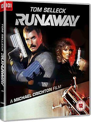 Runaway    [Blu Ray]    New!  Tom Selleck  Westworld • 12.99£