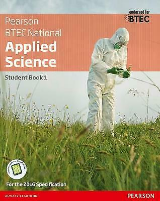 £37.39 • Buy BTEC Nationals Applied Science: Student Book Level 3 (BTEC Nationals Applied Sci