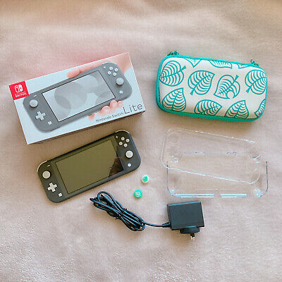 AU199 • Buy Nintendo Switch Lite Grey Bundle *excellent Condition*