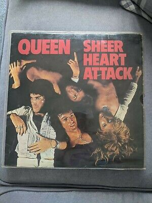 Queen Sheer Heart Attack Vinyl Album • 80£