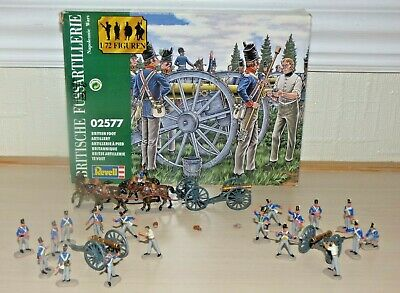 Revell 02557 1:72 Scale Soldiers British Foot Artillery – Painted • 9£