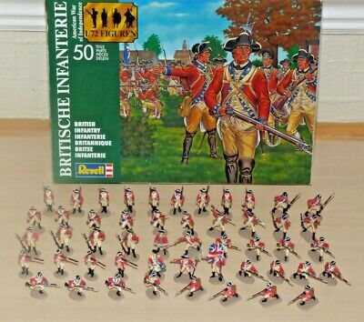 Revell 2560 1:72 Scale Soldiers British Infantry – Painted To Very Good Standard • 24£