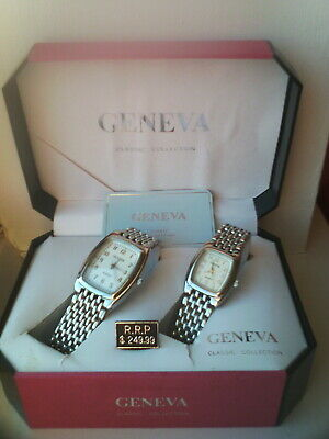 His And Hers Geneva Watches Classic Collection, Never Been Worn, RRP $249.99. • 13.99£