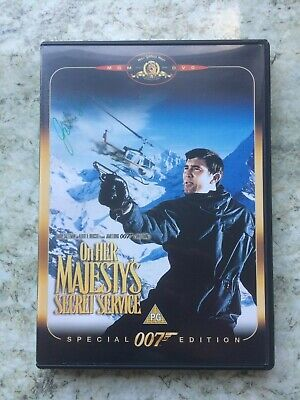 Signed Copy Of On Her Majesty's Secret Service, Special Edition DVD • 15£