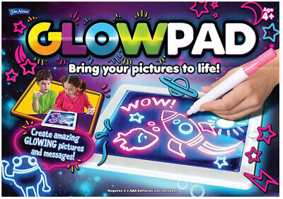 Drawing Glow Pad Colour-Changing Light Board Art Magic Writing Toys Gift Tablet • 22.14£