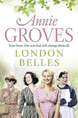 London Belles By Annie Groves (English) Paperback Book Free Shipping! • 10.14£
