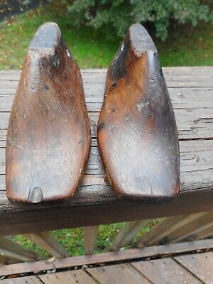 $ CDN19.82 • Buy Charming Matched Pair Of Antique Wood Children's Shoe Lasts