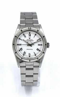 $ CDN2279.50 • Buy Vintage Gents Rolex Air King Precision 1410 Wristwatch Stainless Box Papers 1991